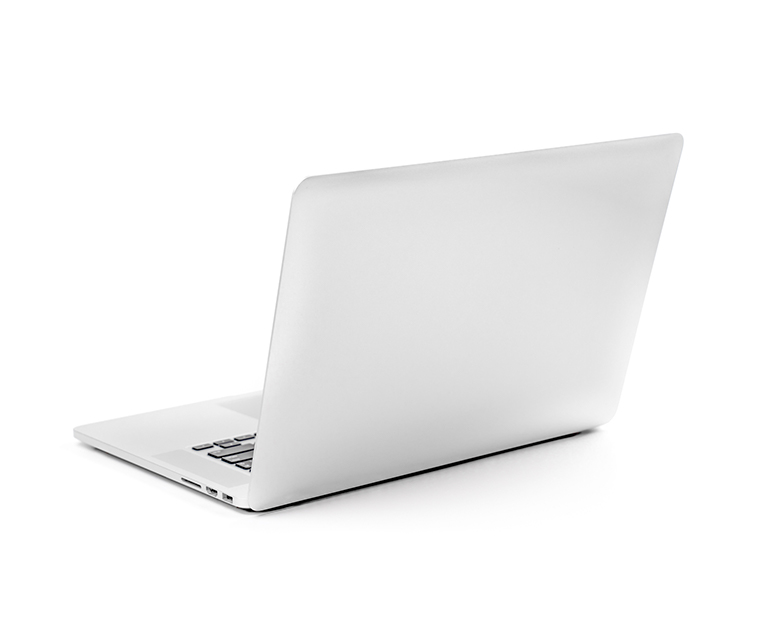 Computadora portátil abierta